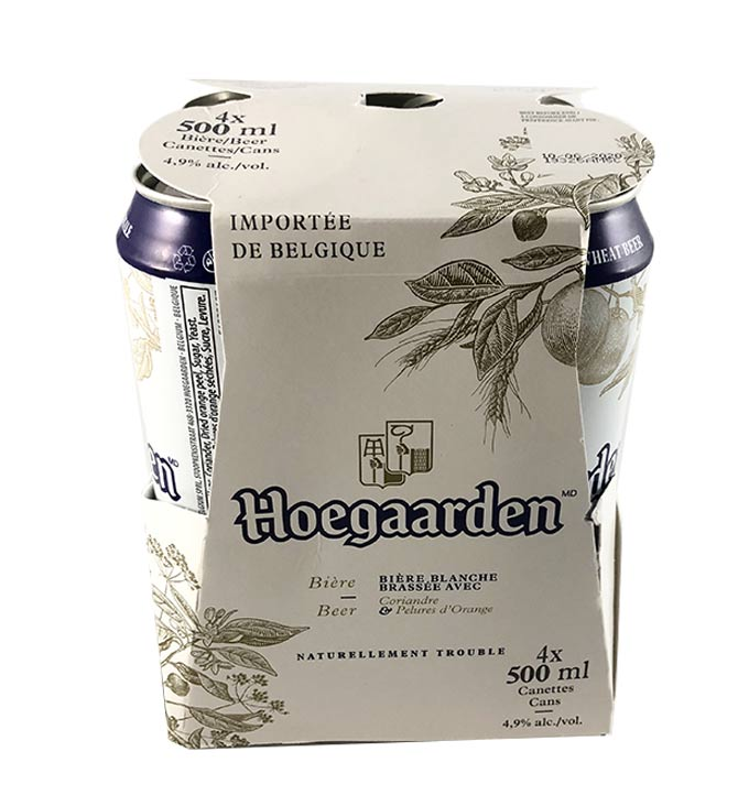 Hoegaarden 4x 500ml