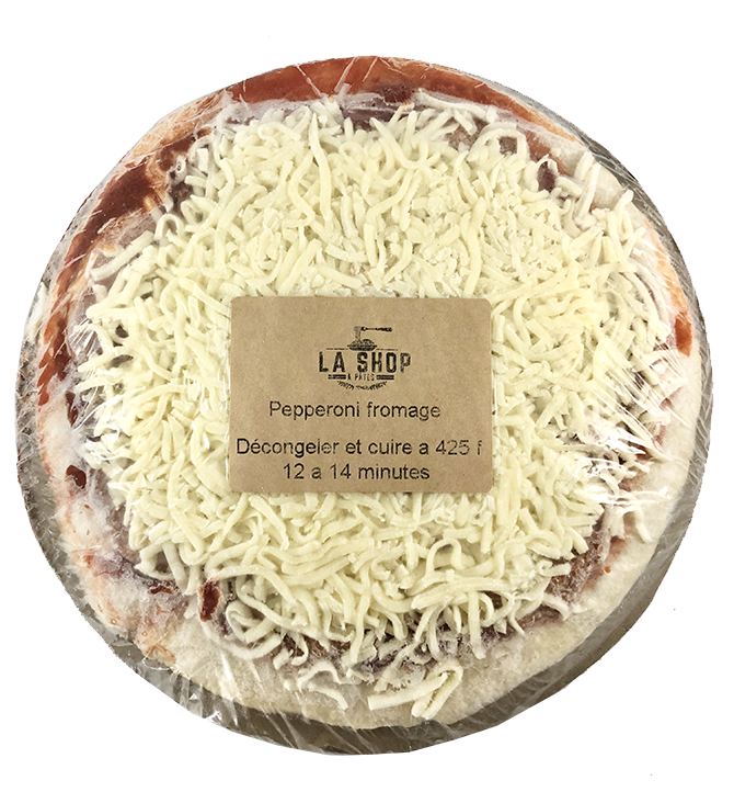 Pizza pepperoni fromage 12po
