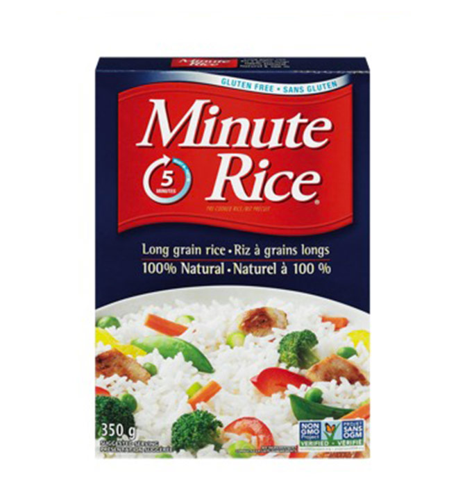 Riz à grain long Minute Rice 350g