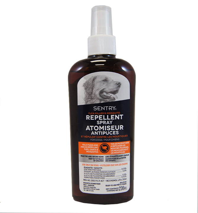 Atomiseur antipuce Sentry 236ml