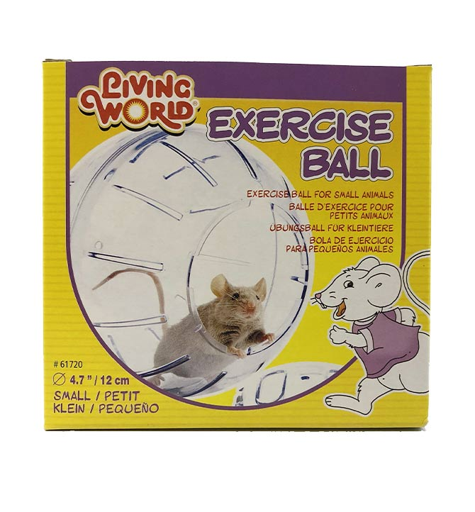 Balle d'exercice pour petits animaux Living World