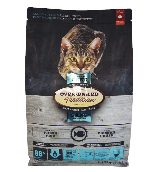Nourriture pour chat Oven-Baked poisson 2.27kg