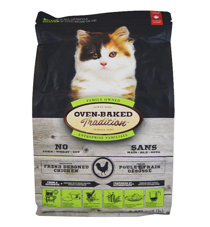Nourriture pour chaton Oven-Baked 2.27kg
