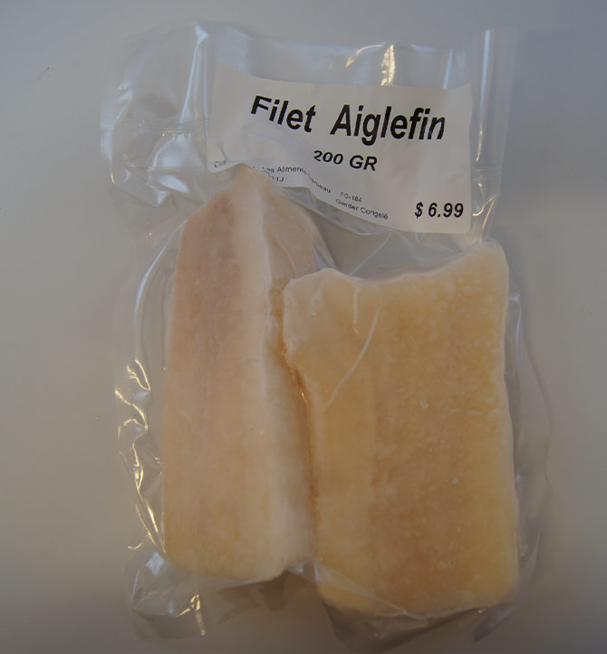 Filet aiglefin 200g