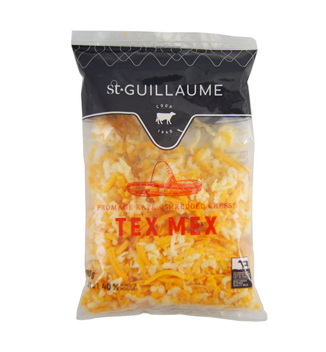 Fromage rapé Tex Mex St-Guillaume 190g