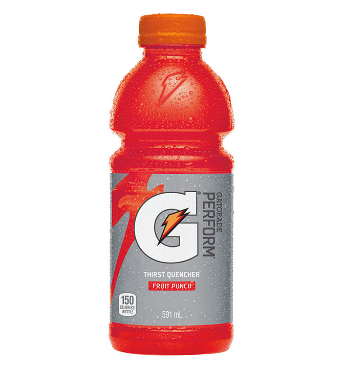 Gatorade Rouge Fruit Punch 591 ml