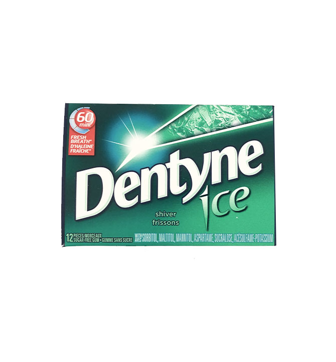Gomme Dentyne Frisson Ice 12 mrx