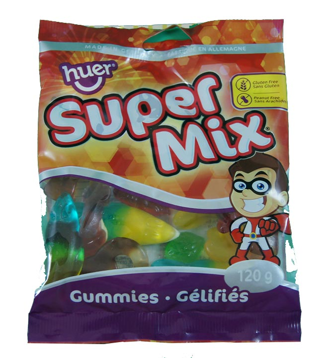 Gummies gélifiés supermix Huer 120g