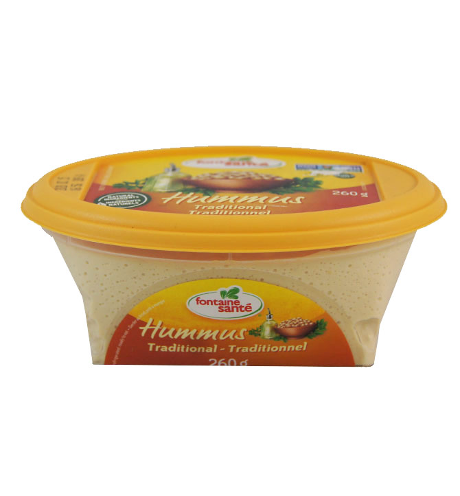 Hummus Traditionnel Fontaine Santé 260g
