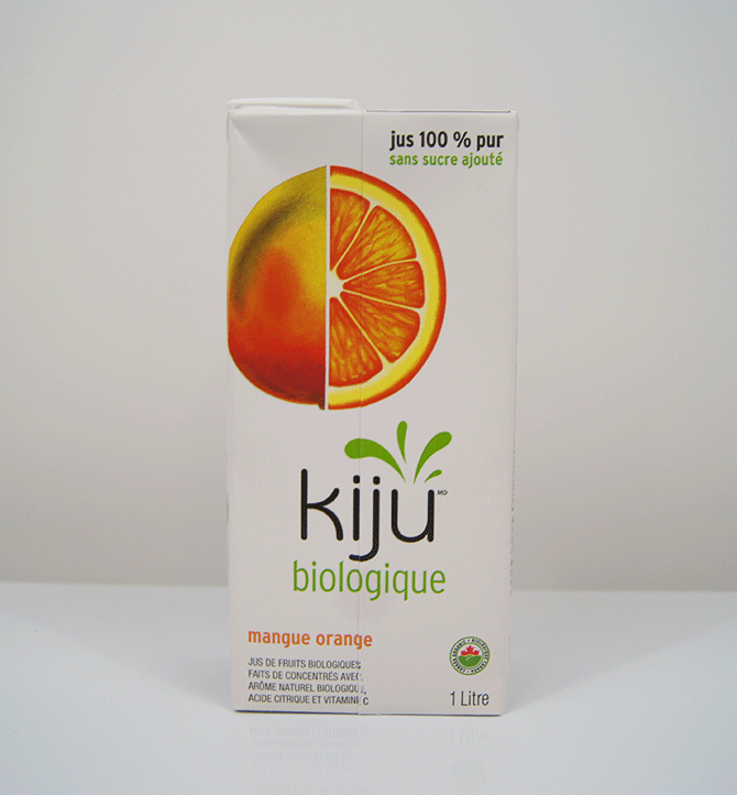 Jus mangue orange Kiju 1L