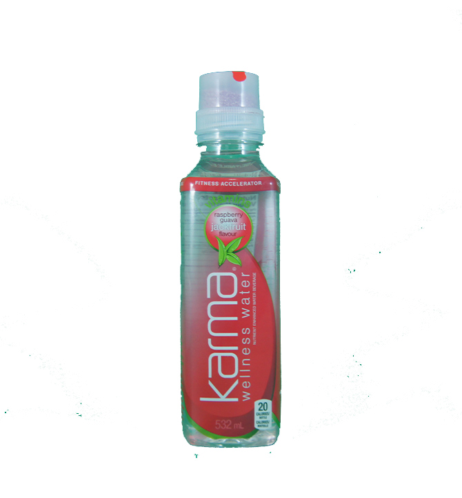 Karma wellness water vitamines raspberry guava jackfruit flavour 532 ml