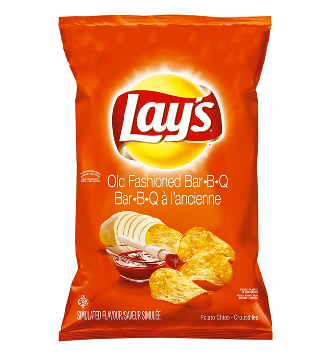 Lays Old Fashioned bbq 165g