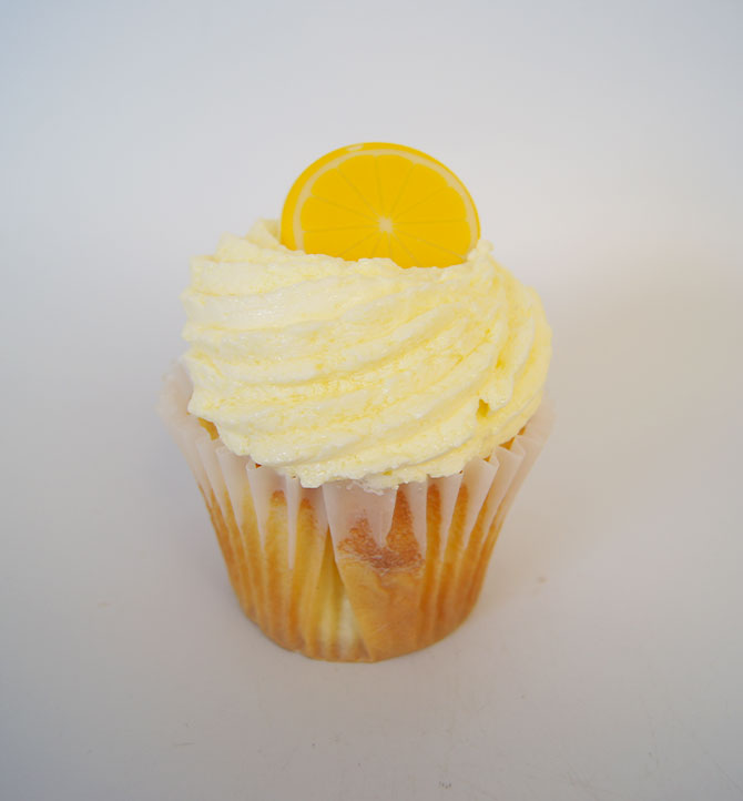 Cup cake citron