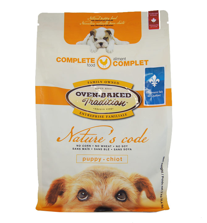 Nourriture pour chiot Oven-Baked 2kg