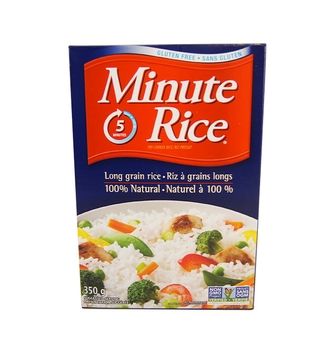 Riz à grains longs Minute Rice 350g