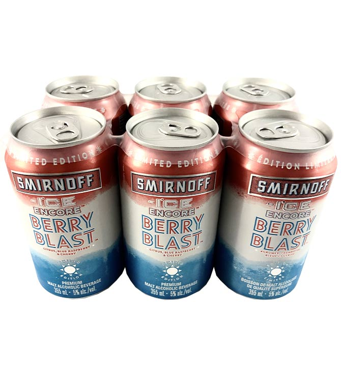 Smirnoff ice cherry blast 6x355ml