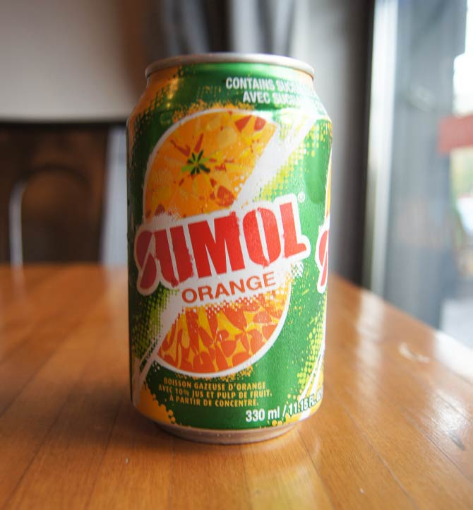 Jus portugais Sumol orange 330ml